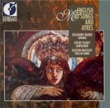 English mad songs and ayres (Purcell, Arne and Blow)