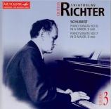 SCHUBERT - Richter - Sonate pour piano en la mineur op.42 D.845