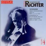 SCHUMANN - Richter - Fantasiestücke, huit pièces de fantaisie pour piano