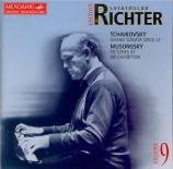 TCHAIKOVSKY - Richter - Grande sonate, pour piano en sol majeur op.37