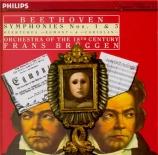 BEETHOVEN - Brüggen - Symphonie n°1 op.21