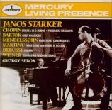 CHOPIN - Starker - Sonate pour violoncelle et piano en sol mineur op.65
