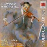 STRAVINSKY - Erxleben - Concerto pour violon et orchestre en ré majeur