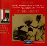 MOZART - Mehta - Die Entführung aus dem Serail (L'enlèvement au sérail)
