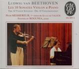 Les 10 sonates violon & piano
