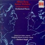 WEBERN - Kegel - Passacaille pour orchestre op.1