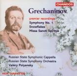 GRECHANINOV - Polyanskii - Symphonie n°1 op.6