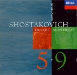 CHOSTAKOVITCH - Dutoit - Symphonie n°5 op.47