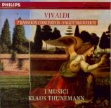 VIVALDI - I Musici - Concerto pour basson RV 491