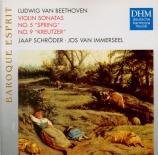 BEETHOVEN - Schroder - Sonate pour violon et piano n°5 op.24 'Le printem
