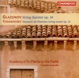 GLAZUNOV - Academy of St M - Quintette à cordes op.39
