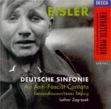 EISLER - Zagrosek - Deutsche Sinfonie op.50