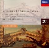 VIVALDI - Marriner - Concerto pour violon, cordes et b.c. en do majeur o