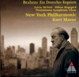 BRAHMS - Masur - Ein deutsches Requiem (Un Requiem allemand), pour solis