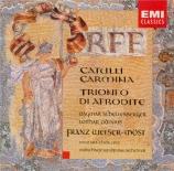 ORFF - Welser-Möst - Catulli Carmina