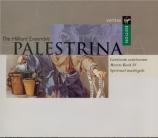 PALESTRINA - Hillier - Motets Livre IV