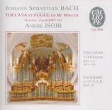 BACH - Isoir - Toccata et fugue pour orgue en ré mineur BWV.565 (attribu