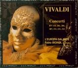 VIVALDI - Biondi - Concerto pour violon, cordes et b.c. en mi mineur RV