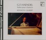 HAENDEL - Gilbert - Suite pour clavier n°1 en la majeur vol.1 n°1 HWV.42