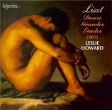 LISZT - Howard - Douze études d'exécution transcendante, pour piano S.13