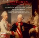BEETHOVEN - Rickenbacher - Cantate sur la mort de l'Empereur Joseph II W