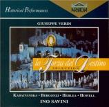 VERDI - Savini - La forza del destino, opéra en quatre actes (version 18 Live Barcelona, 13 - 11 - 1971