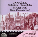 JANACEK - Ancerl - Sinfonietta pour orchestre op.60