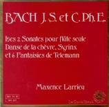BACH - Larrieu - Partita pour flûte seule en la mineur BWV.1013