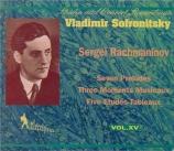 RACHMANINOV - Sofronitsky - Prélude pour piano en ut dièse mineur op.3 n Vol.15