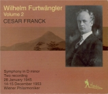 Furtwängler Vol.2 2 recordings of Franck's Symphony live 28/1/1945 & 14-15/12/1953