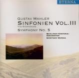 MAHLER - Herbig - Symphonie n°5