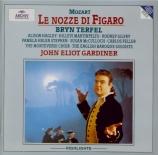 MOZART - Gardiner - Noces de Figaro (Les) K.492 : extraits