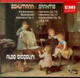 SCHUMANN - Ciccolini - Kinderszenen (Scènes d'enfants), treize pièces po