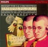 MOZART - Brüggen - Symphonie n°34 en do majeur K.338
