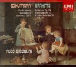 BRAHMS - Ciccolini - Acht Klavierstücke, huit pièces pour piano op.76
