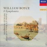BOYCE - Marriner - Symphonie en do majeur op.2 n°3 'The chaplet'
