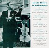 Heifetz in Performance :  Concert Recordings 1945-1954