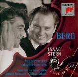 """BERG - Stern - Concerto pour violon 'Dem Andenken eines Engels"""" (A la mé"""