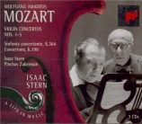 MOZART - Stern - Concerto pour violon et orchestre n°1 en si bémol majeu