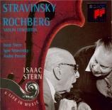STRAVINSKY - Stern - Concerto pour violon et orchestre en ré majeur