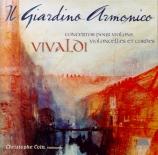 VIVALDI - Antonini - Concerto pour deux violons, deux violoncelles, cord