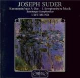 SUDER - Mund - Symphonie de chambre en la majeur