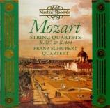 MOZART - Franz Schubert - Quatuor à cordes n°14 en sol majeur K.387