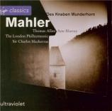MAHLER - Mackerras - Des Knaben Wunderhorn (Le Cor enchanté de l'enfant)