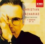 BEETHOVEN - Zacharias - Sonate pour piano n°5 op.10 n°1