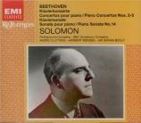 BEETHOVEN - Solomon - Concerto pour piano n°2 en si bémol majeur op.19