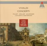 VIVALDI - Schröder - Concerto pour violon, cordes et b.c. en ré majeur R