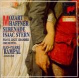 MOZART - Rampal - Marche pour orchestre en ré majeur K.249 (K6.249)
