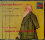 BRAHMS - Juilliard Strin - Quatuor à cordes n°1 op.51-1