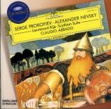 PROKOFIEV - Abbado - Alexander Nevsky, cantate pour soliste, choeur mixte